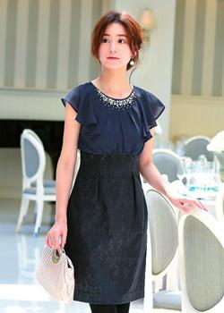 大人かわいいドレスともっと見る